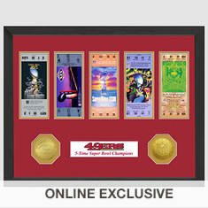 Super Bowl Ticket Collection-49ers