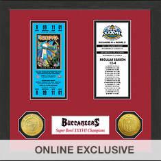 Super Bowl Ticket Collection-Buccaneers