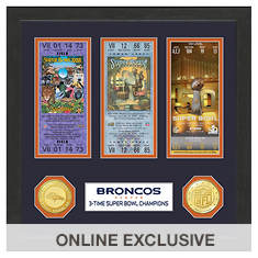 Super Bowl Ticket Collection-Broncos