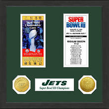 Super Bowl Ticket Collection-Jets