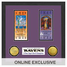 Super Bowl Ticket Collection-Ravens