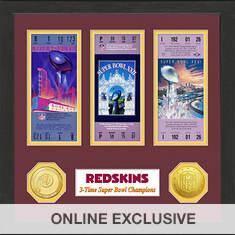 Super Bowl Ticket Collection-Redskins