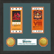 Super Bowl Ticket Collection-Dolphins