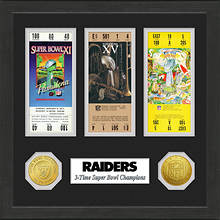 Super Bowl Ticket Collection-Raiders