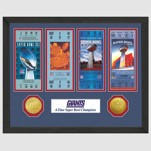 Super Bowl Ticket Collection