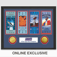Super Bowl Ticket Collection-Giants