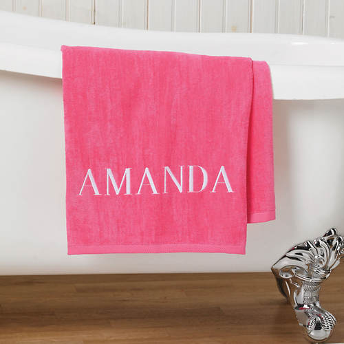 Personalized Bath Sheet