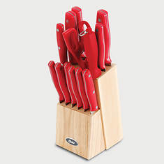 14-PC.Stainless Steel Cutlery Set-Red