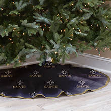 NFL Tree Skirt-Saints