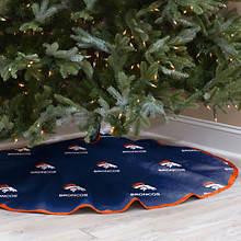 NFL Tree Skirt-Broncos