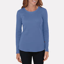 Dickies Women's Stretch Thermal- Blue