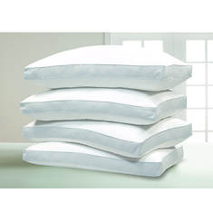 Blue Ridge 4-Pack 1,000 Thread Count Egyptian Cotton Down Alternative Pillows