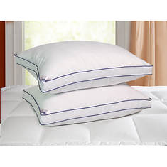 Kathy Ireland 2-Pack 1,000 Thread Count Down Alternative Pillow