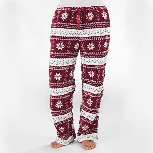 Nordic Faux Fur Lined Lounge Pants