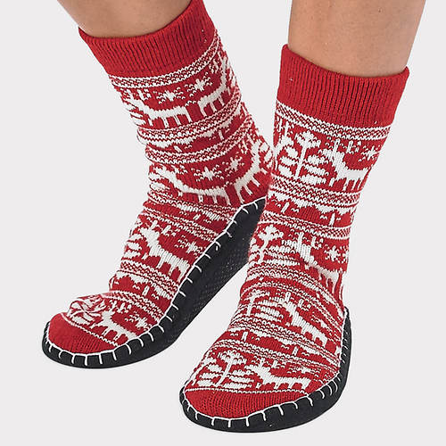 US Nordic Slipper Socks
