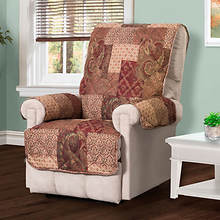 Paisley Patch Furniture Protector-Recliner
