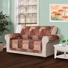 Paisley Patch Furniture Protector-Loveseat