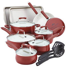 Paula Deen Savannah 17-Piece Cookware Set