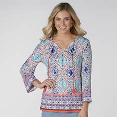 Carpet Border Printed Top