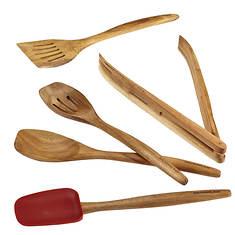 Rachael Ray Cucina 5-Piece Wooden Tool Set
