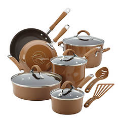 Rachael Ray Cucina Nonstick 12-Piece Enamel Cookware Set