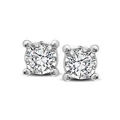 10K Diamond Stud Earrings .10 ct. tw.