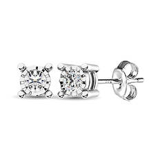 10K Diamond Stud Earrings .20 ct. tw.