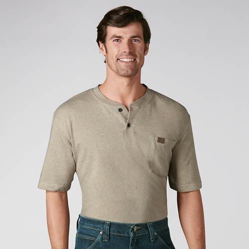 Wrangler Short Sleeve Henley
