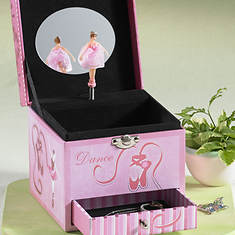 Ballerina Musical Jewelry Box