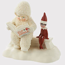 Snowbabies®  Elf on the Shelf