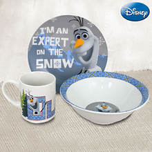 Disney® 3-piece Dinnerware Set - Frozen® Snow Expert