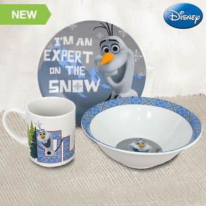 Disney® 3-piece Dinnerware Set - Frozen® Snow Expert