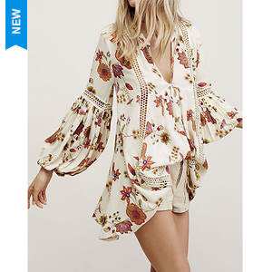 Free People Women's Just the Two of Us Printed Tunic