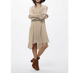 Free People Women's Lieutenant Shirtdress Mini