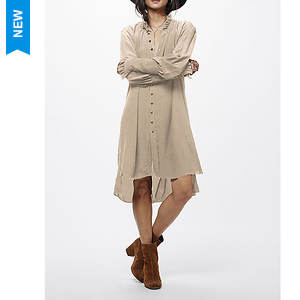 Free People Women's Lieutenant Shirtdress Mini