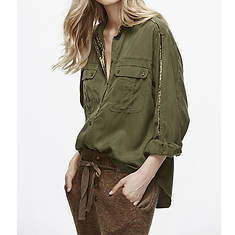 Free People Women's Off Campus Buttondown