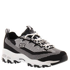 Skechers Sport D'Lites-Shiny and New (Women's)