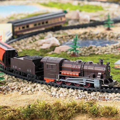 40-Pc Deluxe Steam Train Set