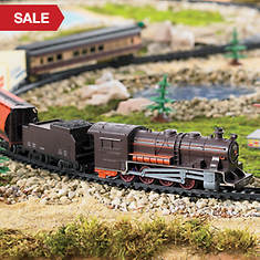 40-Pc Deluxe Steam Train Set