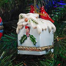Porcelain Secret Hinged Ornaments-Mailbox