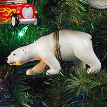 Porcelain Secret Hinged Ornaments-Bear
