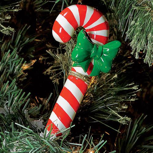 Porcelain Secret Hinged Ornaments