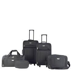 Travelers Club 5-Piece Tuscany EVA Luggage Set