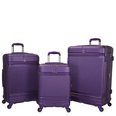Travelers Club Accent 3-Piece Spinner Luggage Set