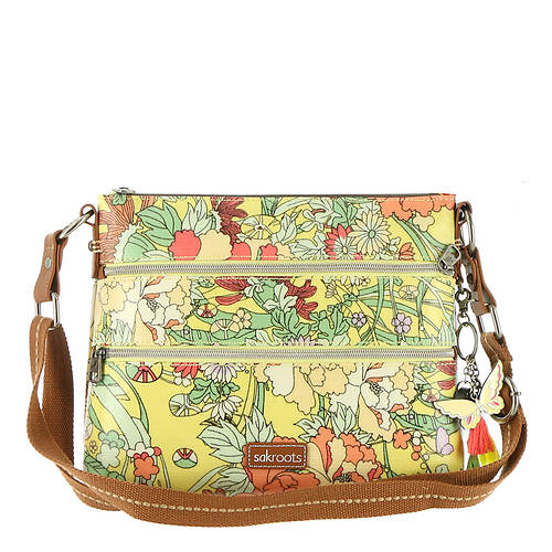 Sakroots-Artist Circle Basic Crossbody Handbag