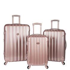 Travelers Club Kensie 3-Piece Hardside Luggage