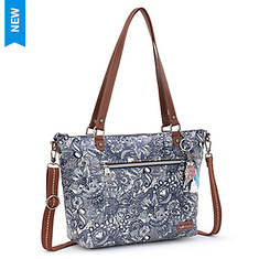 Sakroots Artist Circle City Satchel Handbag