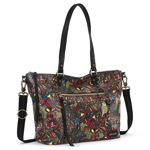 Sakroots-Artist Circle City Satchel Handbag