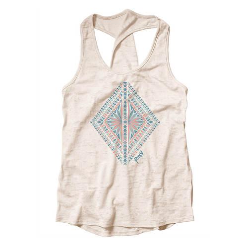 Roxy Sportswear Diamond in the Rough Twist Tank
