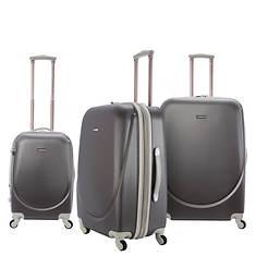Travelers Club Barnet 3-Piece ABS Luggage Set